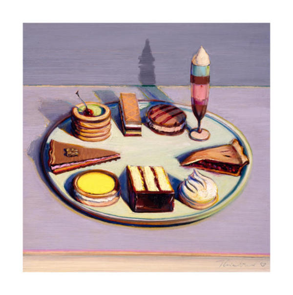 Dessert Tray by Wayne Thiebaud