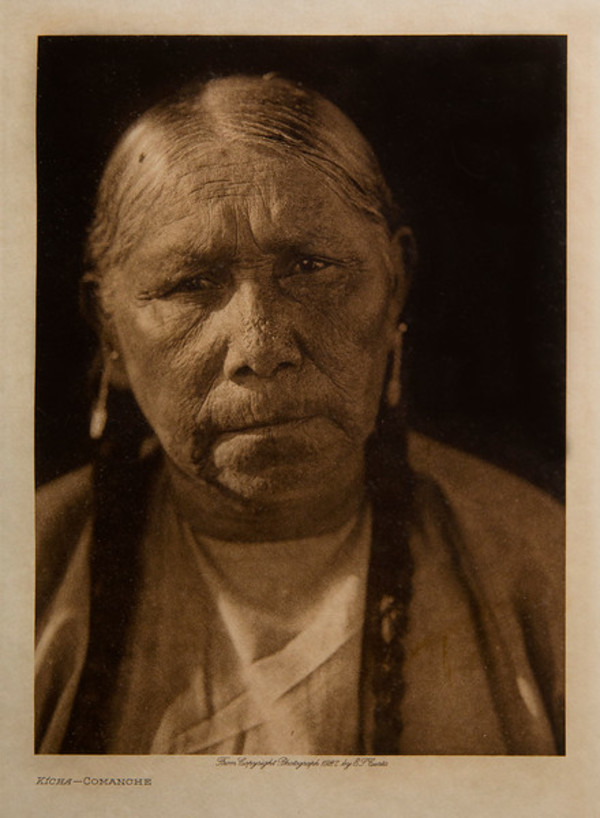 Kicha Comanche by Edward S. Curtis