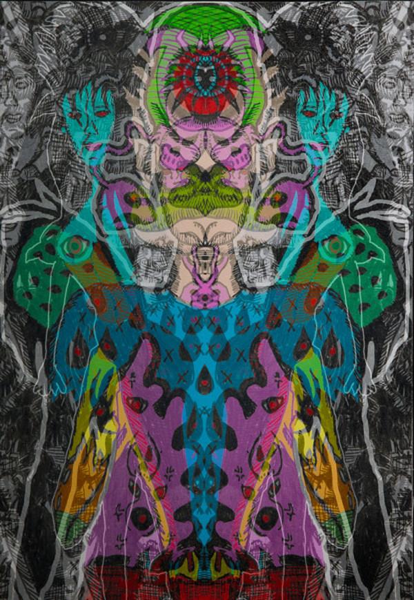 Psychedelic Jungle by David Medina