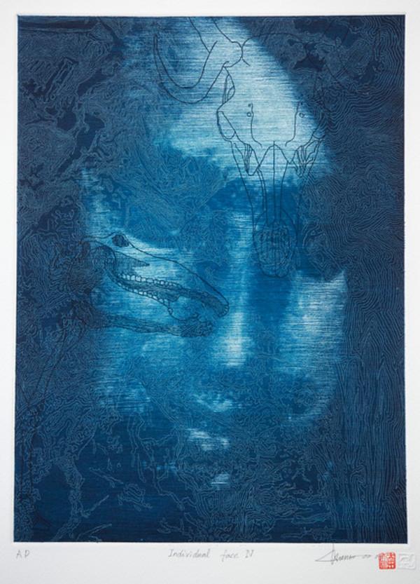 Individual Face IV by Chunwoo Nam