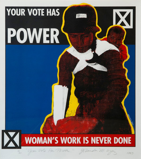 Your Vote Has Power by Yolanda Lopez