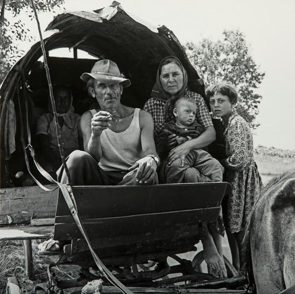 Tigani Family, Romania, 1968 by Robert Von Sternberg