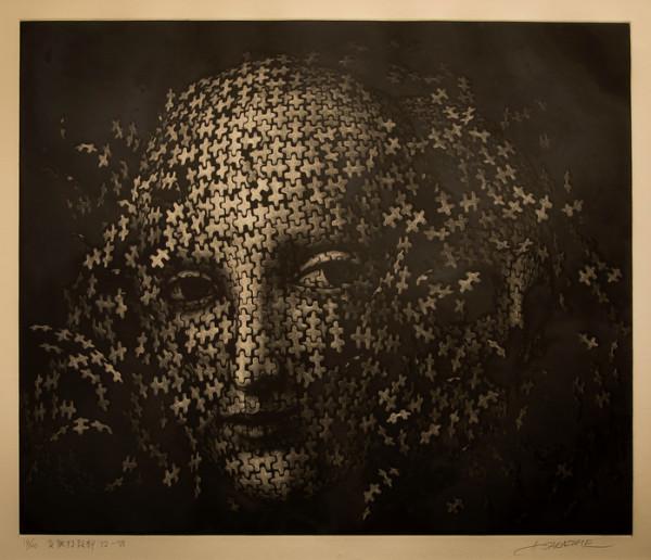 Metamorphosing Head 82 VII by Atsuo Sakazume