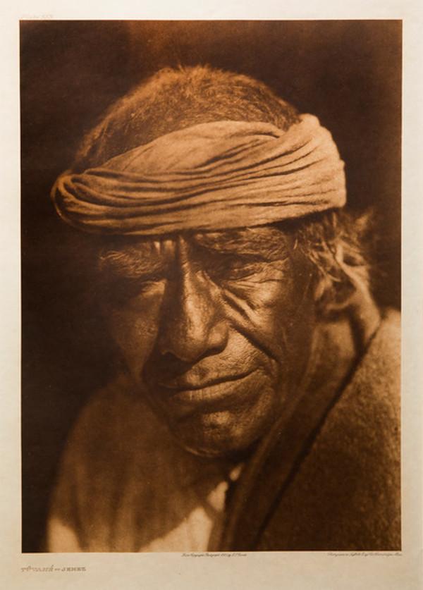 Tuvahe-Jemez by Edward S. Curtis