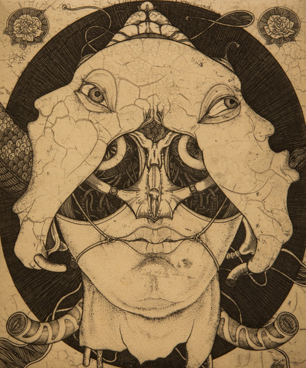 Mask 01 by Shin Taga