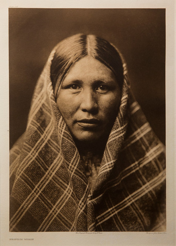 Nespilim Woman by Edward S. Curtis