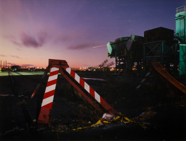Sunset Port Newark by Steve Fretz
