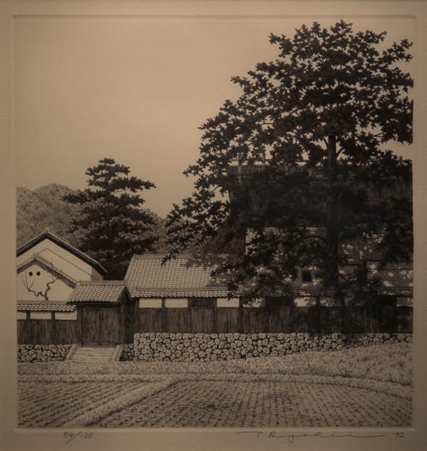 House with Big Tree No. 2 by Tanaka Ryohei