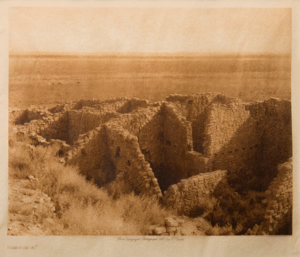 Hawikuh (A) by Edward S. Curtis