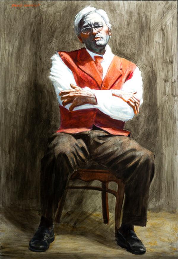 Untitled (Portrait of Dr. Gabert) by Mark Beard