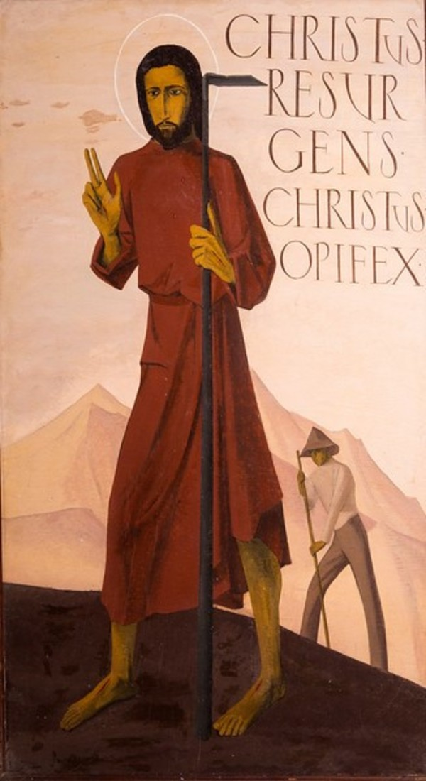 Christus Rersurgens Christus Opifex by Constance Mary Rowe also known as Sister Mary of the  Compassion, O.P.
