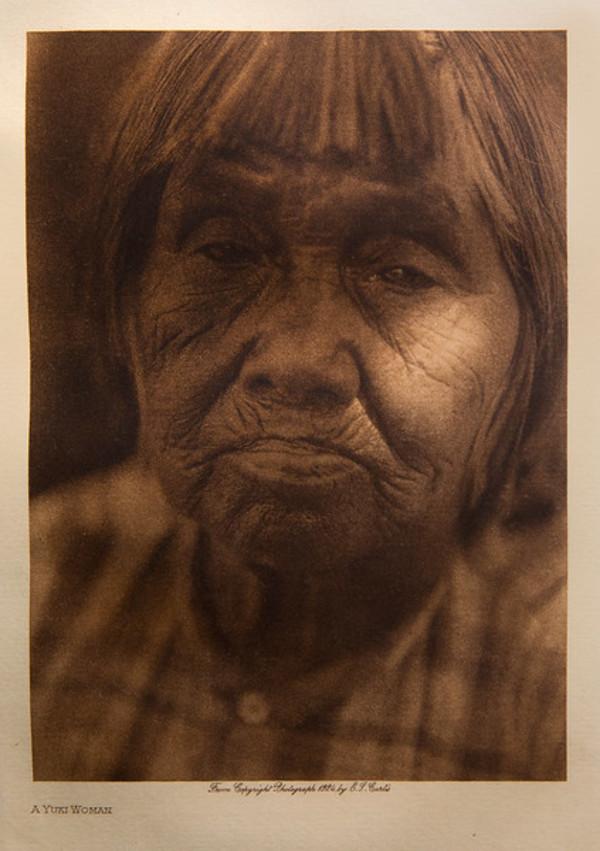 A Yuki Woman by Edward S. Curtis