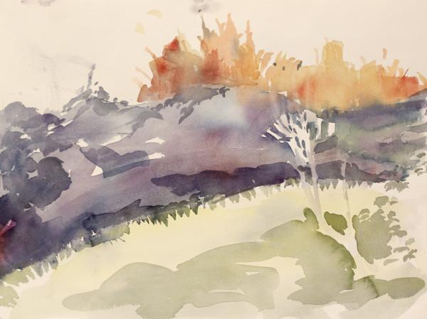 Purple Mountain Majesty by Lesley A. Powell