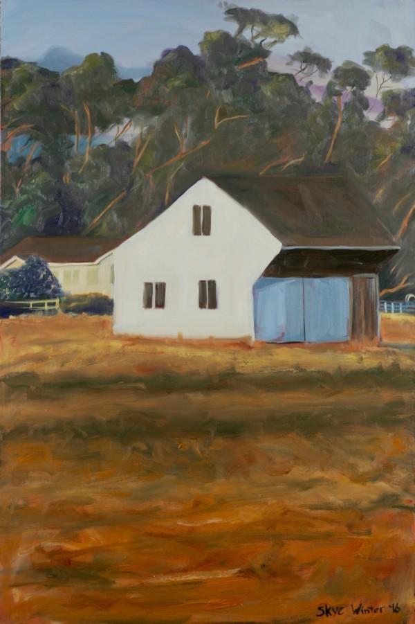 Wonky Barn by Skye Coddington
