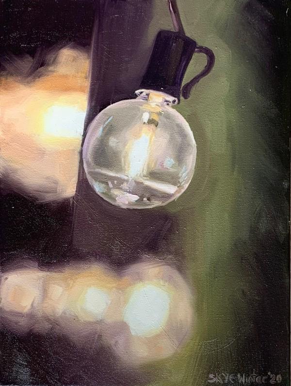 String Lights #4P by Skye Coddington