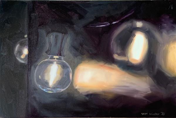 String Lights #3 by Skye Coddington