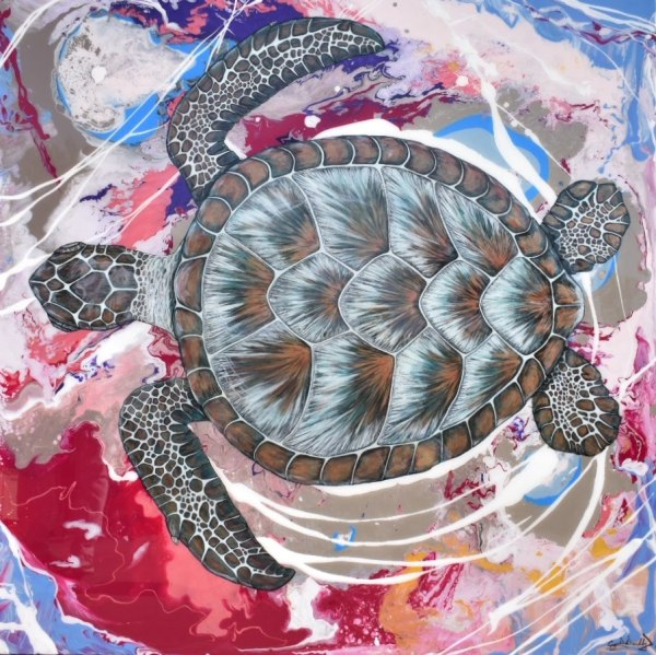 Turtle Reef by Crystal Dombrosky