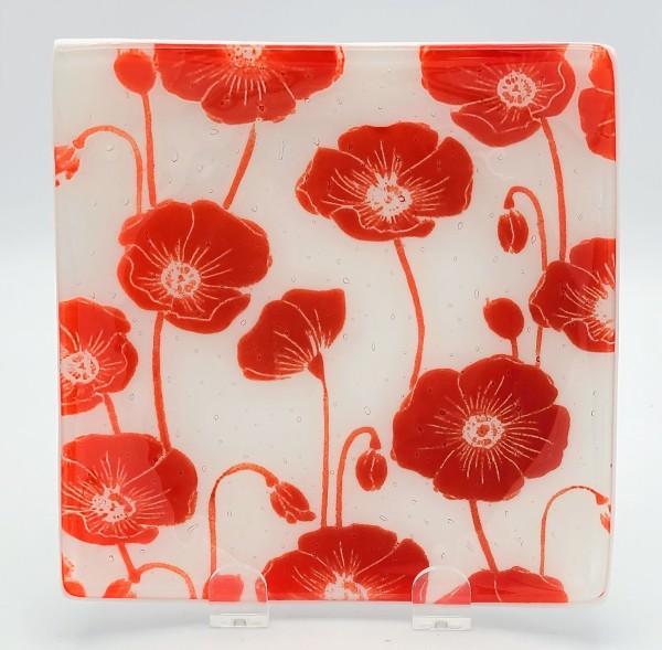 Poppy Plate-Sushi Style by Kathy Kollenburn