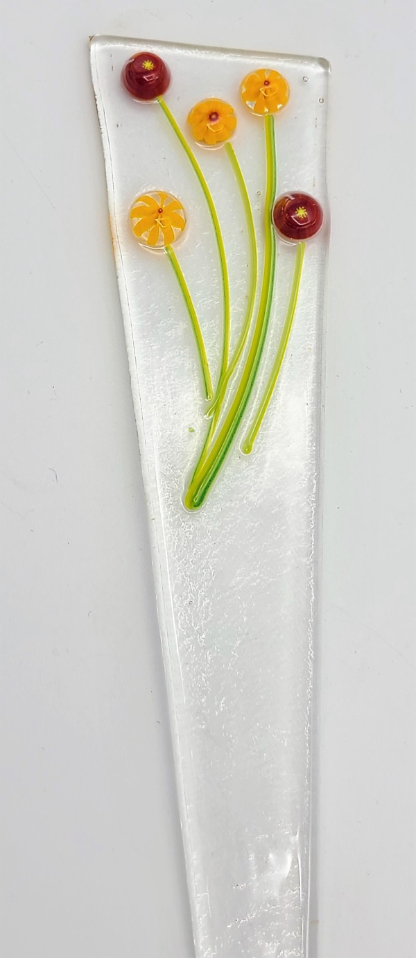 Plant Stake-Marigolds by Kathy Kollenburn