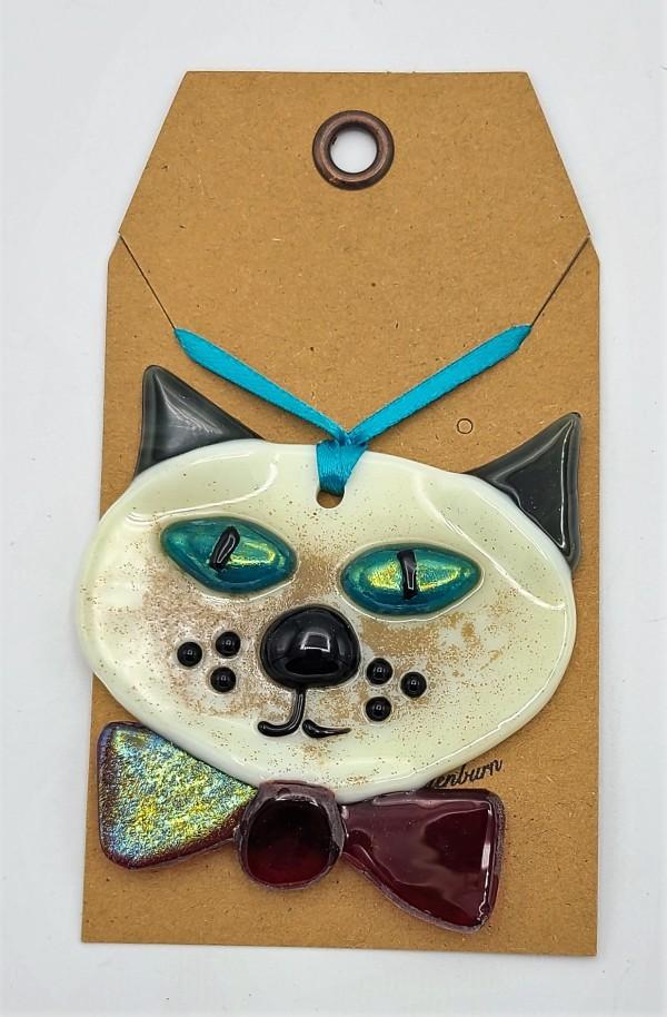 Cat Ornament by Kathy Kollenburn