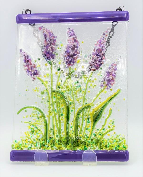 Garden Hanger-Lavender Flowers by Kathy Kollenburn