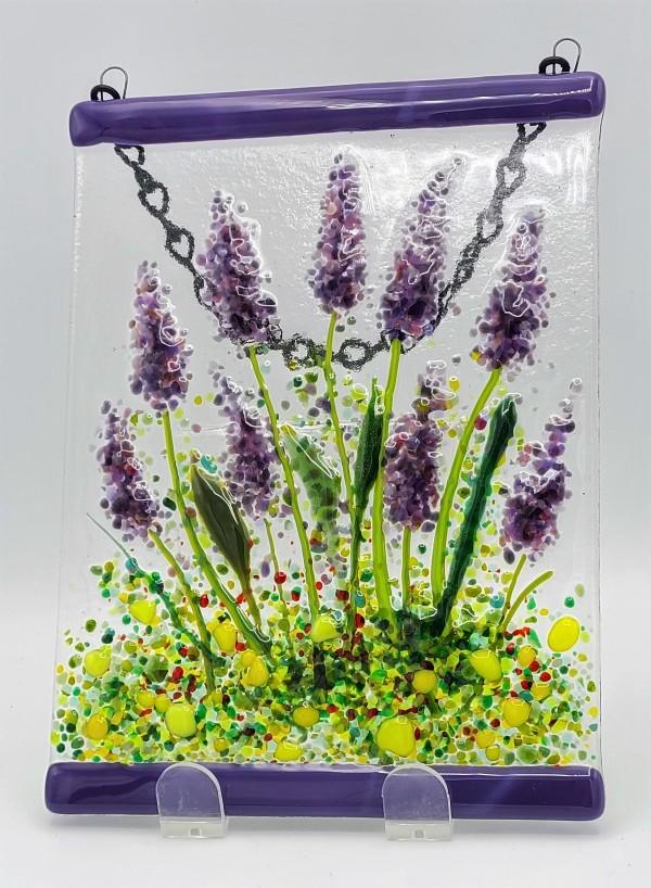 Garden Hanger-Lavender by Kathy Kollenburn