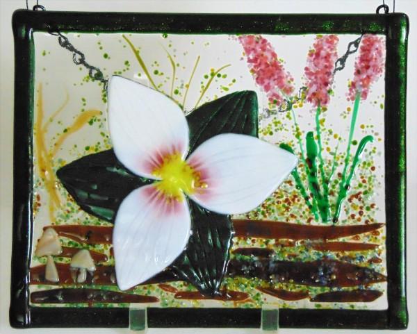 Garden Hanger-Trillium by Kathy Kollenburn
