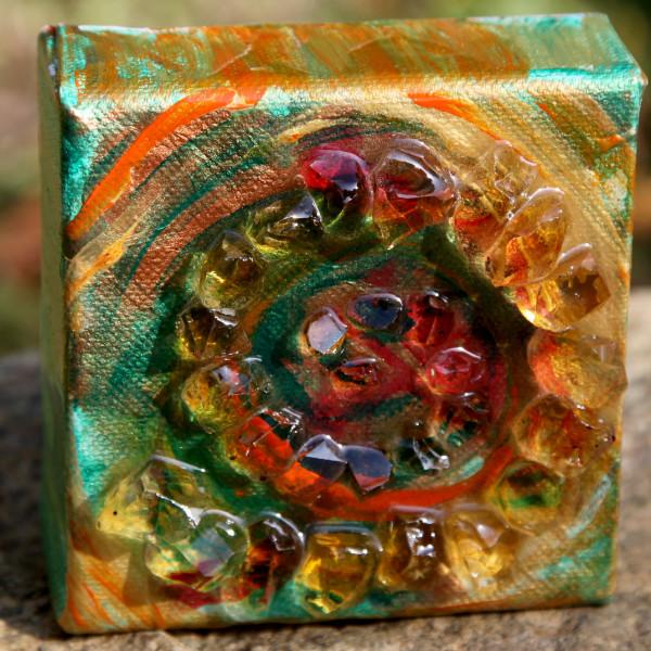 Spiral Dream Citrine by Laura McClanahan