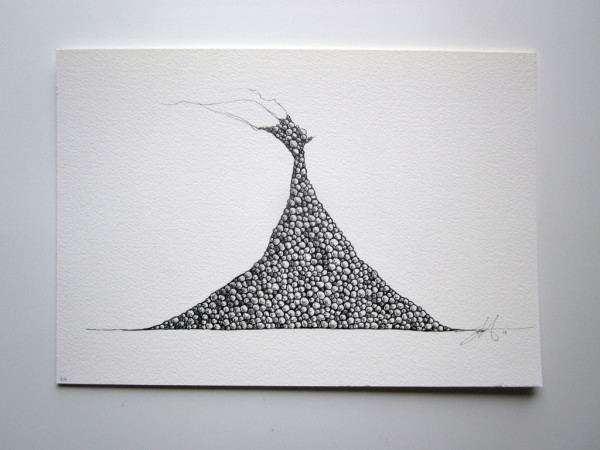 Eggs Rocks Pearls #24 by Brenda Stumpf