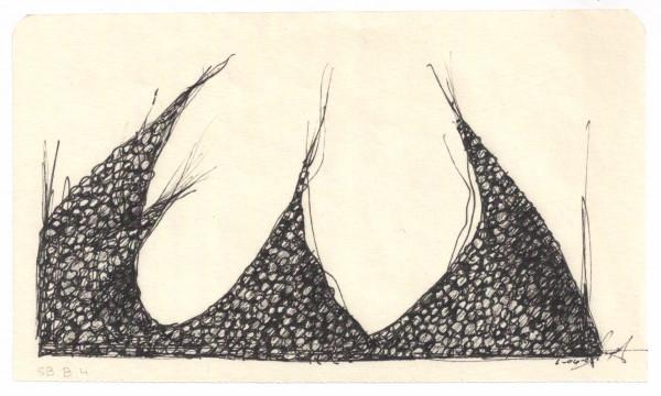 Eggs Rocks Pearls SB B #4 by Brenda Stumpf