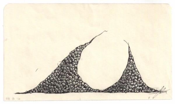 Eggs Rocks Pearls SB B #16 by Brenda Stumpf