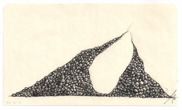 Eggs Rocks Pearls SB B #17 by Brenda Stumpf