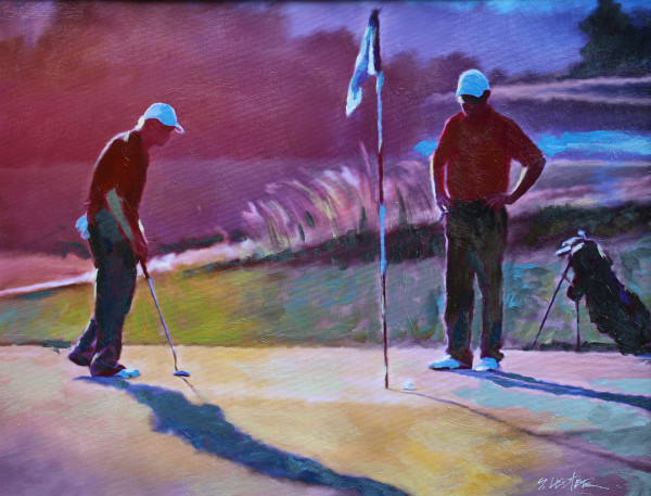 """""""Playing the Back Nine"""" by Steven Lester"""
