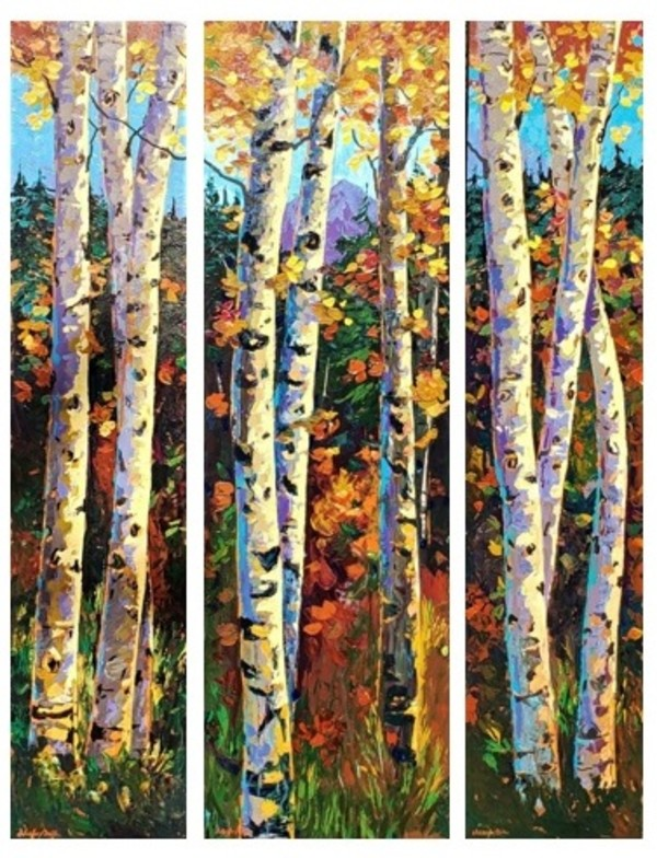 Fall's Palette by Kevin D. Miles & Wendy Sue Schaefer Miles
