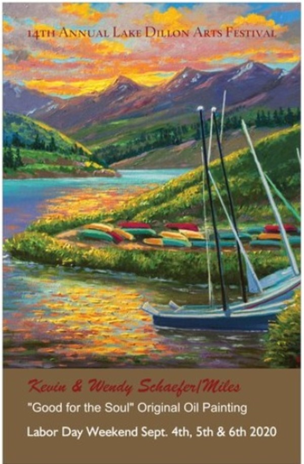 Lake Dillon Arts Festival 2020 Colorado Art Shows by Kevin D. Miles & Wendy Sue Schaefer Miles