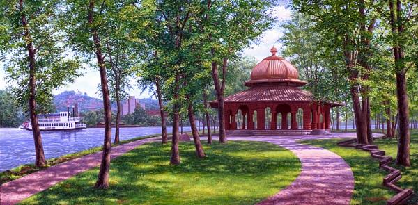 Pettibone Park by Kevin D. Miles & Wendy Sue Schaefer Miles