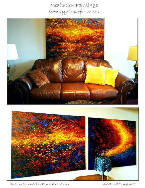 Texas Trio Original Oil Paintings by Wendy Sue Schaefer Miles
