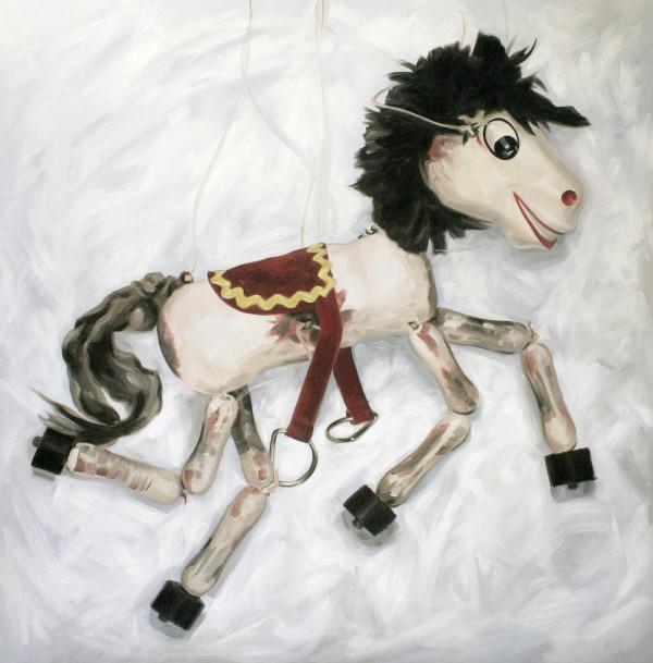 Horse, Pelham puppet by Yvonne East