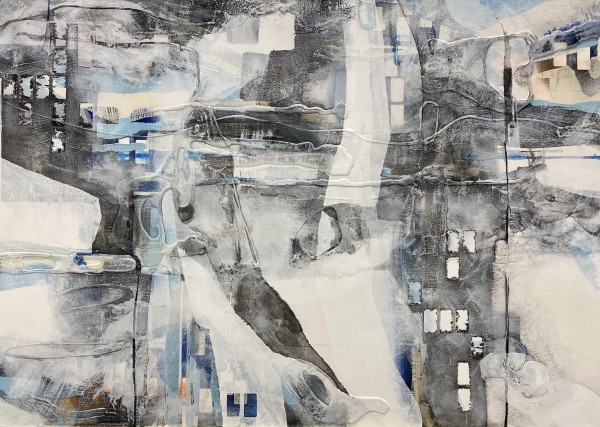 Beneath the Moving Cloud  #4 by Victoria Johns Art