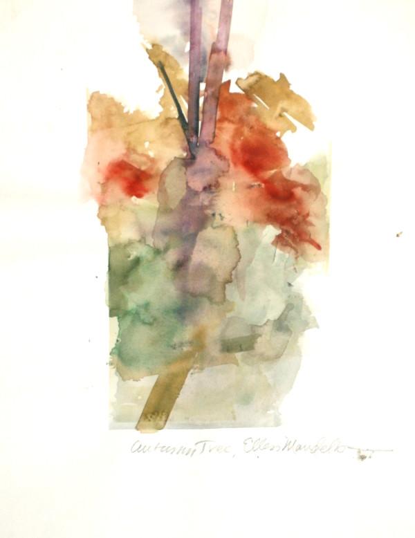 Autumn Tree by Ellen Mandelbaum