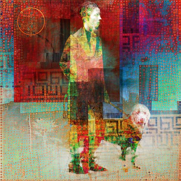 Dog Walker #1 by Tony Bounsall