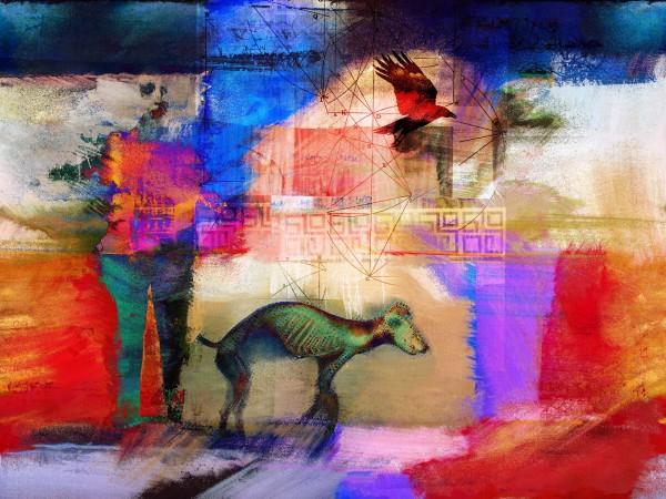 Dog Walker #2 by Tony Bounsall