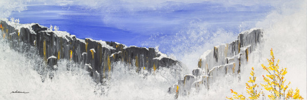 Frosty Cliffs 1 by M Shane