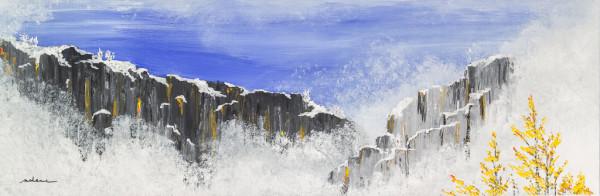 Frosty Cliffs 1 by M Shane