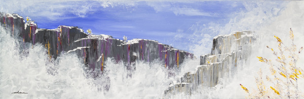Frosty Cliffs 2 by M Shane