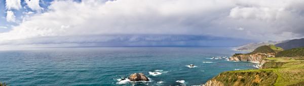 Big Sur Coastline by E Wand