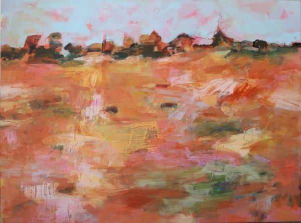 Grazing Paddock, Summer by Lyn Laver-Ahmat