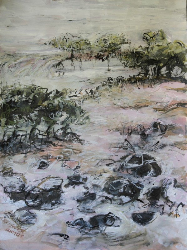 Mangroves at Low Tide by Lyn Laver-Ahmat