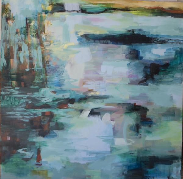 Little Duck Pond by Lyn Laver-Ahmat