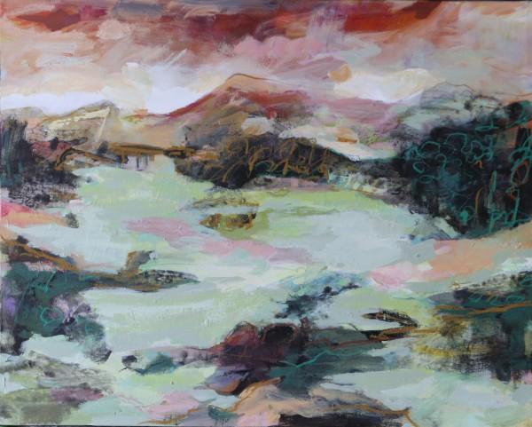 Nindaroo on Dusk by Lyn Laver-Ahmat